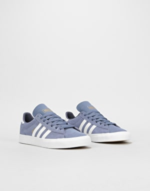 Adidas Campus Vulc II Womens Trainers - Raw Indigo/White/Raw Indigo