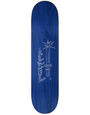 Krooked Gonz Pen Mighty Skateboard Deck - 8.06