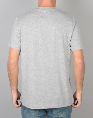 WeSC Inlay Icon T-Shirt - Grey Melange