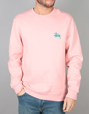 Stüssy Basic Stussy Crew - Dusty Rose