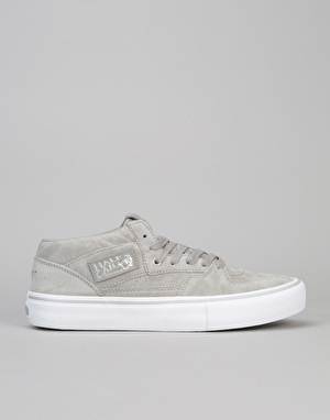 Vans Half Cab 25th Anniversary Pro Skate Shoes - (25th) Silver