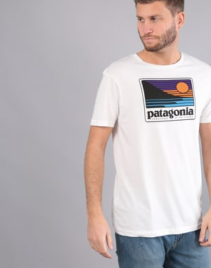 Patagonia Up & Out Organic T-Shirt - White