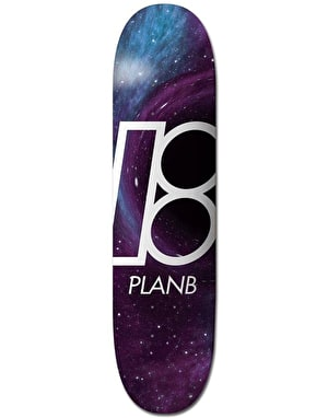 Plan B Black Hole Skateboard Deck - 8.25