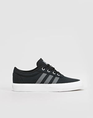 Adidas Adi-Ease Boys Skate Shoes - Black/Grey/White