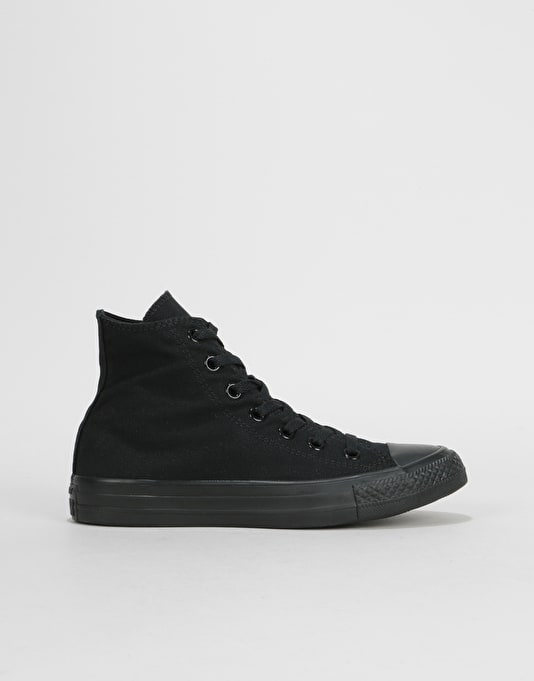 Converse All Star Hi-Top Monochrome Womens Trainers - Black