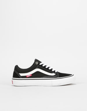 Vans Old Skool Pro Womens Trainers - Black/White