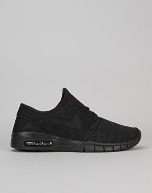 Nike SB Stefan Janoski Max Shoes - Black/Black-Anthracite