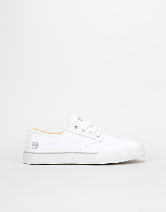 Etnies Jameson Vulc LS Womens Trainers - White