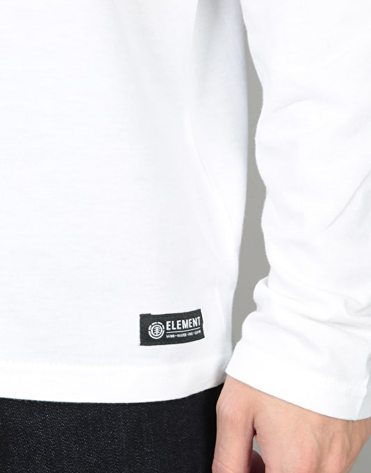 Element Basic L/S T-Shirt - Optic White