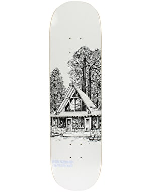 Heroin Chopper Cabin Series II Skateboard Deck - 8.125