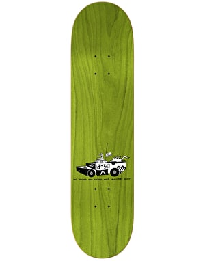 Krooked Gonz Military Genius Skateboard Deck - 8.5
