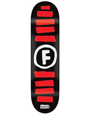 Foundation Doodle Stripe Skateboard Deck - 8