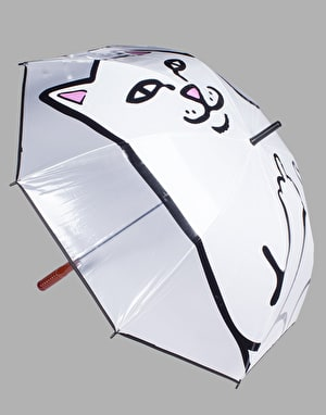 RIPNDIP Lord Nermal Umbrella - Clear