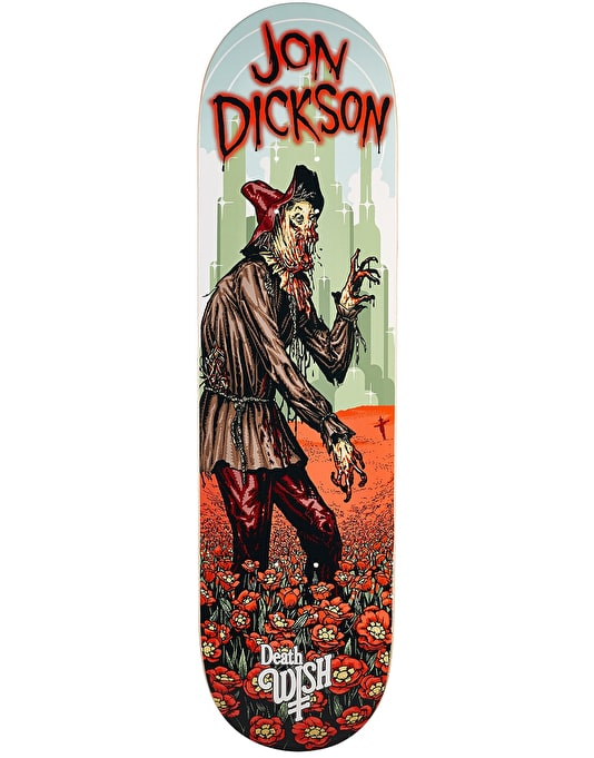Deathwish Dickson Nightmare In Emerald City Skateboard Deck - 8.125""