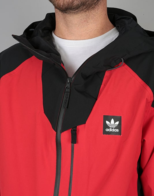 Adidas Major Stretchin It 2018 Snowboard Jacket - Scarlet/Black