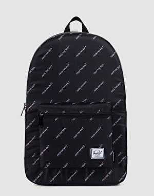 Herschel Supply Co. x Independent Packable Daypack - Black/FTR Print