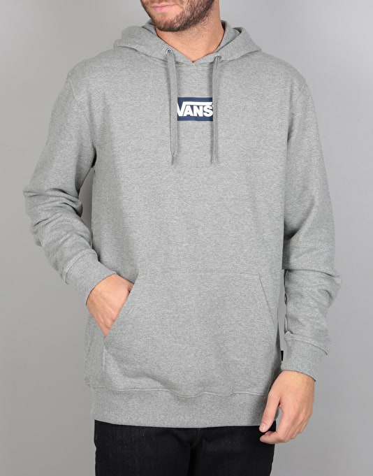 Vans Small Box Pullover Hoodie - Concrete Heather