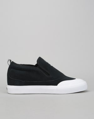 Adidas Matchcourt Slip Mid Skate Shoes - Core Black/White/Gum