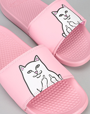 RIPNDIP Lord Nermal Sliders - Pink