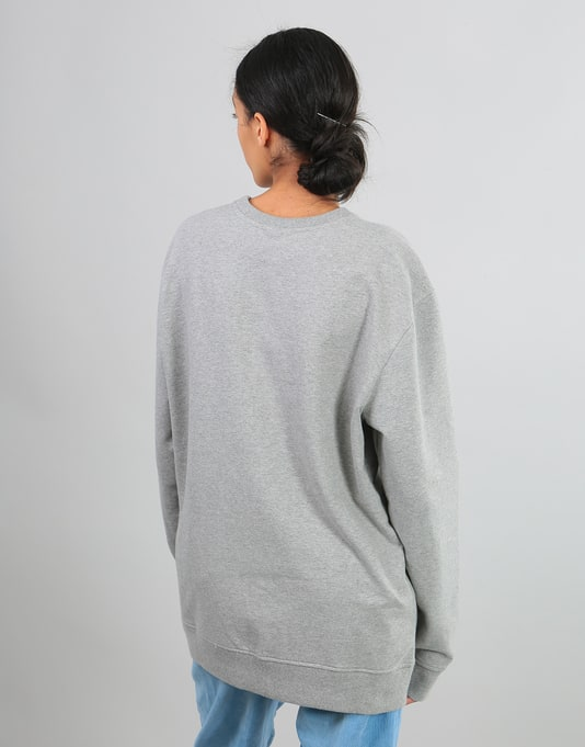Patagonia Womens P-6 Label Oversized Sweatshirt - Feather Grey