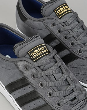Adidas Adi-Ease Premiere Skate Shoes - Grey/Black/Running White
