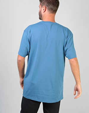 Vans Left Chest Logo T-Shirt - Copen Blue