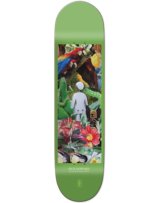 Girl Howard Raised by the Jungle Skateboard Deck - 8.5""