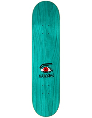 Krooked Sebo Eye for an Eye Skateboard Deck - 8.38