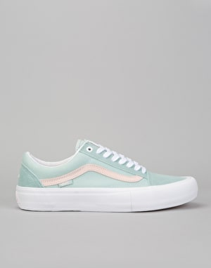 Vans Old Skool Pro Skate Shoes - (Danlu) Harbor Gray/Pearl