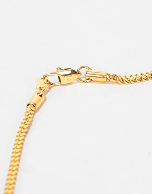 Midvs Co 18K Gold Plated Jesus Piece Necklace - Gold