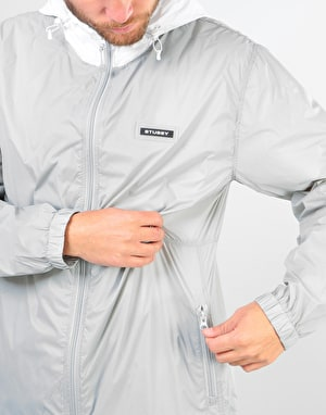 Stüssy Sport Nylon Jacket - Grey