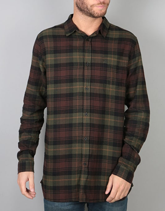 Globe Dock L/S Shirt - Port