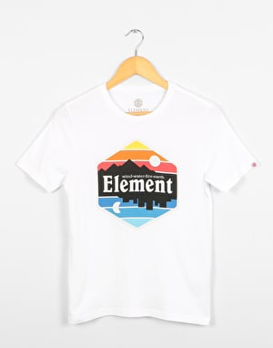 Element Dusk  Boys T-Shirt - Optic White