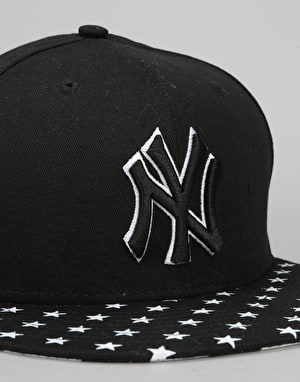 New Era 9Fifty New York Yankees Stars N Stripes Snapback Cap - Black