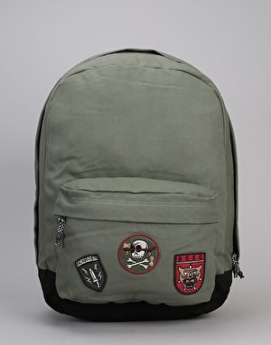 DC Backstack Canvas Backpack - Vintage Green