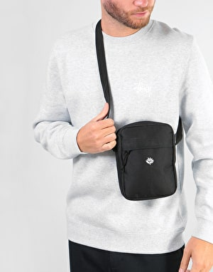 Magenta XL Cross Body Bag - Black