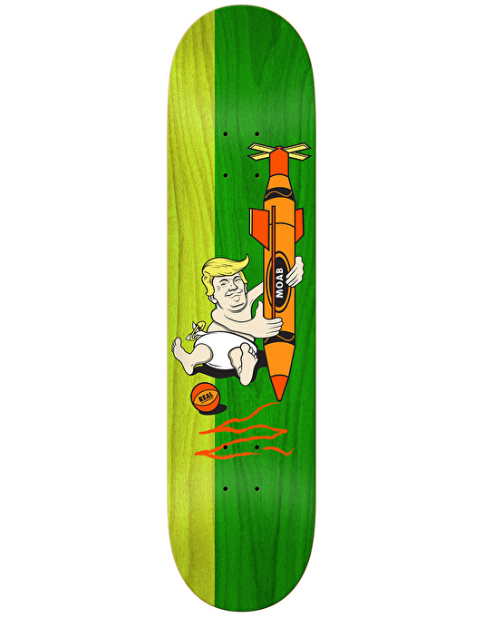 Real Big Baby Skateboard Deck - 8.25""