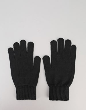 Santa Cruz Screaming Gloves - Black