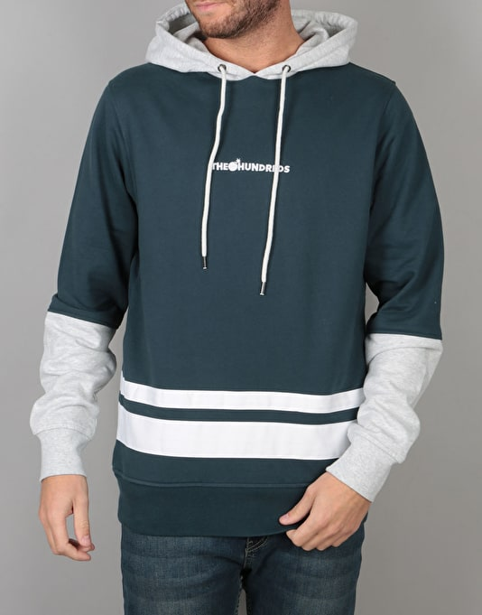 The Hundreds Crane Pullover Hoodie - Blue