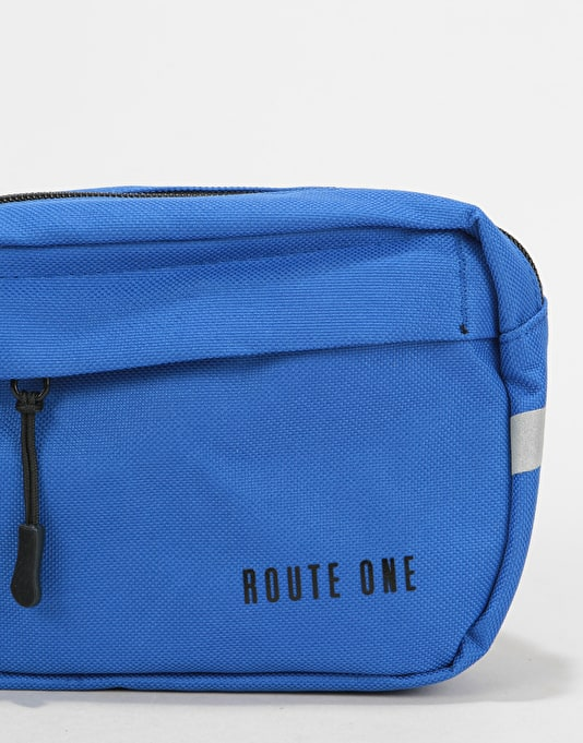 Route One Classic Cross Body Bag - Royal Blue