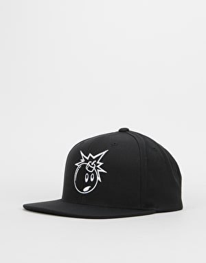 The Hundreds Alias Two Snapback Cap - Black