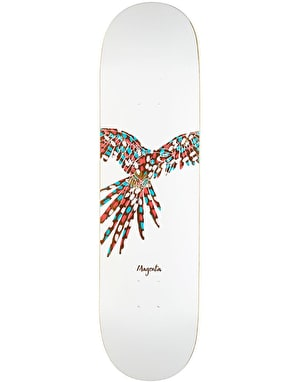Magenta Feather Team Deck - 8.25