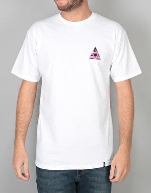 HUF Dimensions Triangle T-Shirt - White