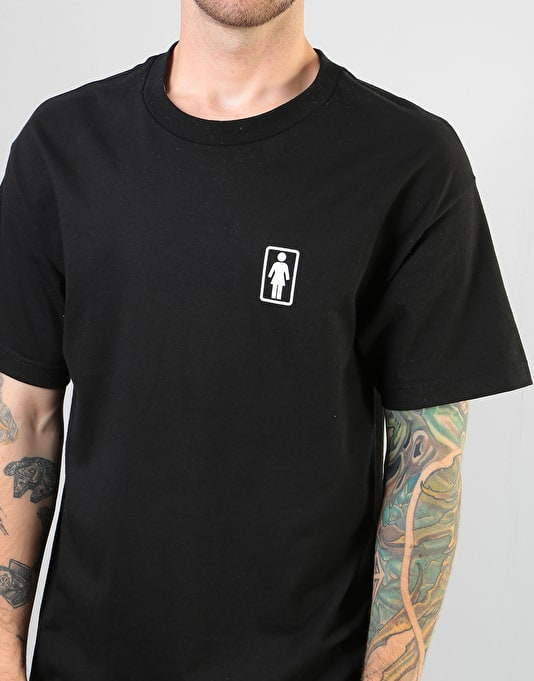 Girl x Sub Pop Logo T-Shirt - Black