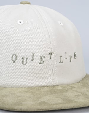 The Quiet Life Stagger Polo Cap - Bone/Sage