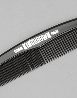 King Brown Black Pocket Comb
