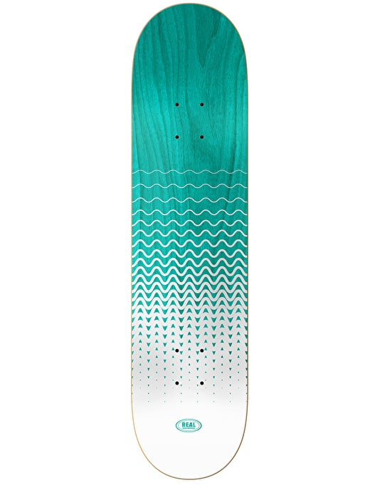 Real Brockel Wavelength Spectrum Skateboard Deck - 8.25""