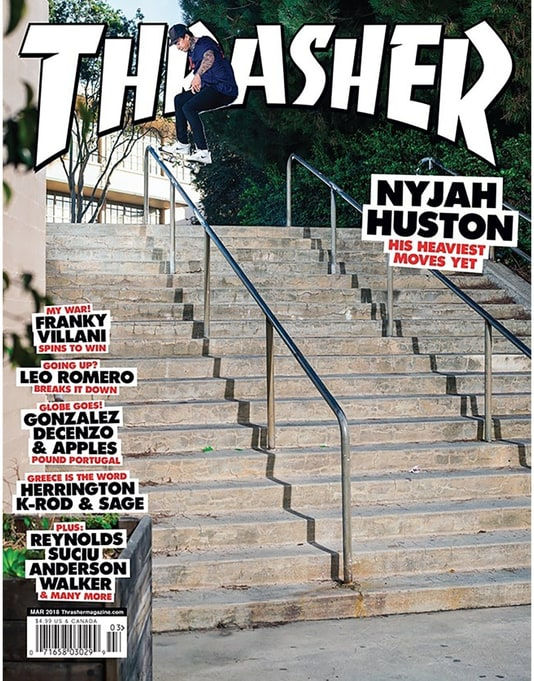 Thrasher Magazine Issue 452 March 2018