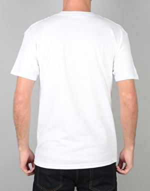 Skate Mental Have You Seen Him T-Shirt - White