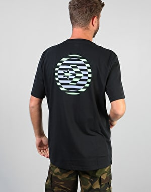 Converse Cons Linear Star Chevron T-Shirt - Black
